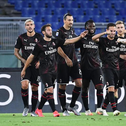 Ibrahimovic, Calhanoglu and Rebic gives AC Milan important win on Lazio