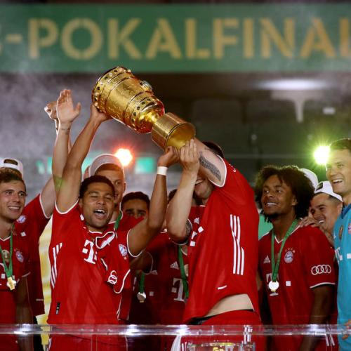 Bayern Munich seal their 13th domestic double after winning Cup