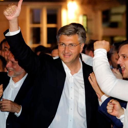 Croatia's ruling HDZ wins parliamentary vote