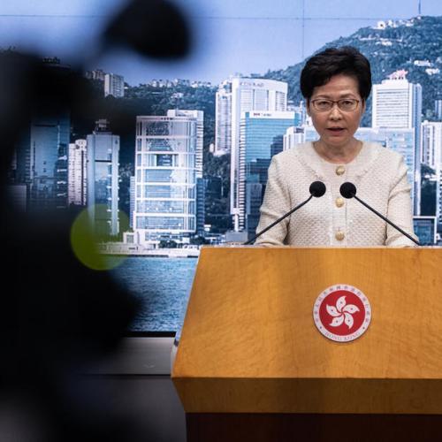 Hong Kong leader says key election postponed, blow to pro-democracy camp
