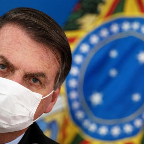 Brazilian President tests positive for Covid-19