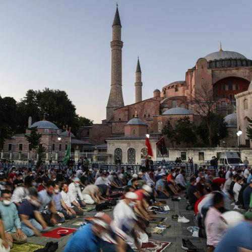 Hagia Sophia declared a mosque after Turkish court ruling