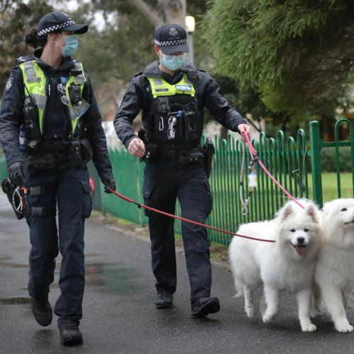 Photo story – Policing in Melbourne