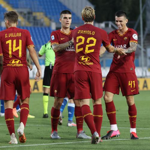 Zaniolo scores after returning from injury as Roma beat Brescia 3-0
