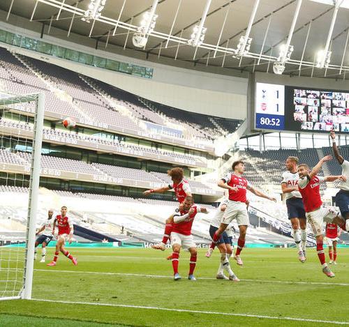 Tottenham Hotspur wins London derby against Arsenal