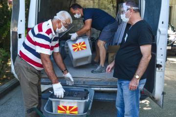 Photo Story: Early voting gets underway in North Macedonia