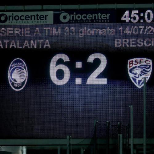 Atalanta earns second spot in Serie A after impressive 6 – 2 win against Brescia