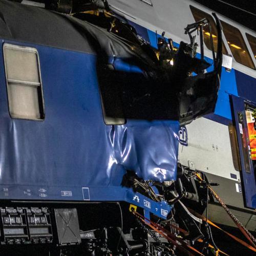 Train driver dies, 35 injured in second fatal train crash in a week in the Czech Republic