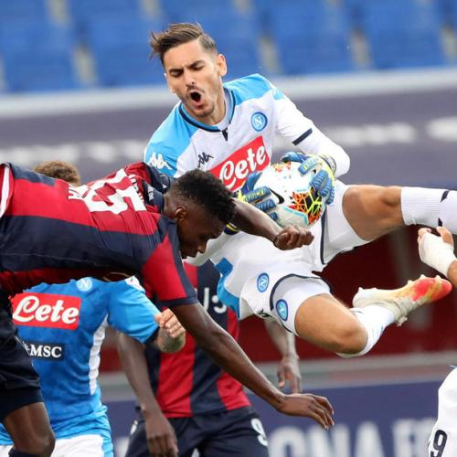 Late Barrow goal earns Napoli a draw against unlucky Bologna