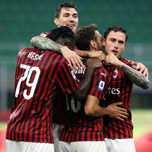 AC Milan maintains positive streak with win against Parma