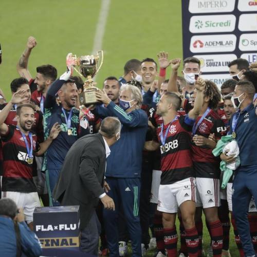 Flamengo win Rio de Janeiro's state championship