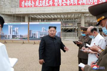 North Korea's Kim says to prepare for 'both dialogue and confrontation' with U.S.