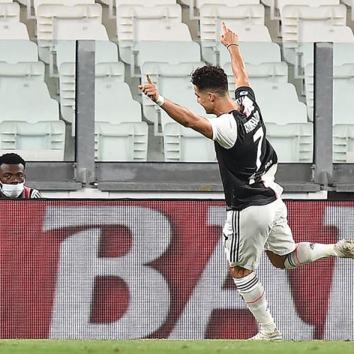 Cristiano Ronaldo scores 50th Serie A goal in Juventus win over Lazio