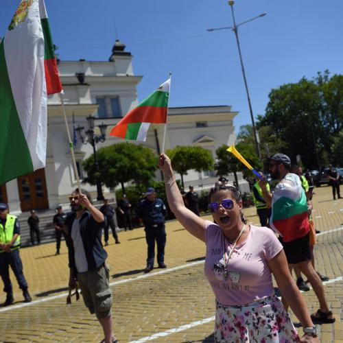 Bulgaria parliament approves govt reshuffle amid protests