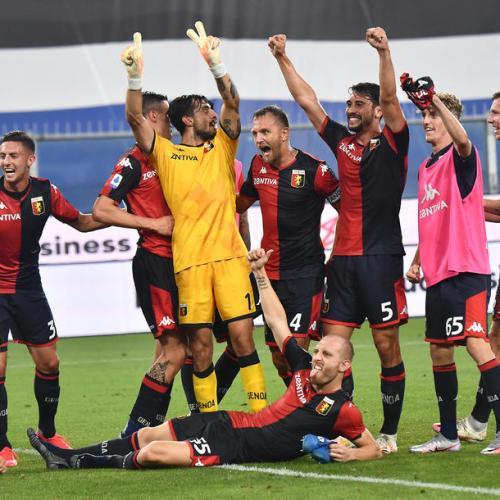 Win over Sampdoria brings Genoa closer to safety, Brescia relegated
