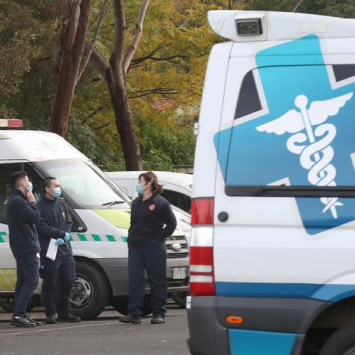 Australia reports jump in daily new cases, record deaths