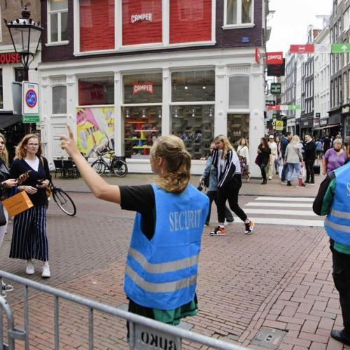 Photo Story: Strict checks on coronavirus rules in Amsterdam