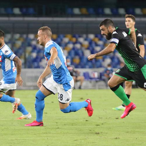 Sassuolo beaten by Napoli and VAR