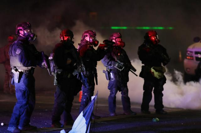 Anti-police brutality protests continue in Portland, USA