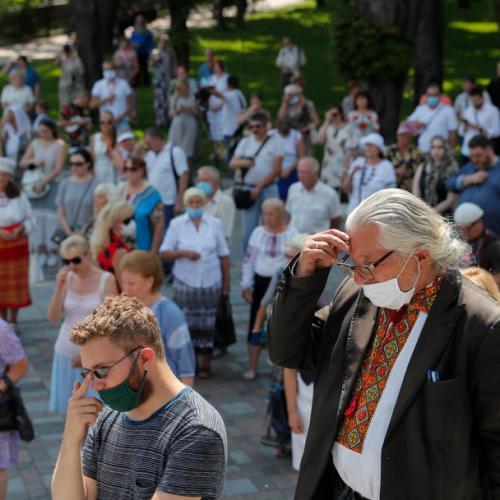 Ukraine sees record daily high of 1,197 new coronavirus cases