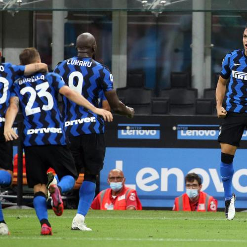 Inter wins against Napoli