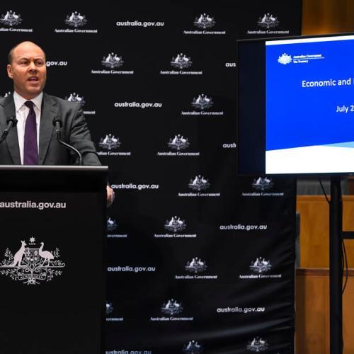 Australia forecasts biggest postwar fiscal deficit on virus-driven stimulus