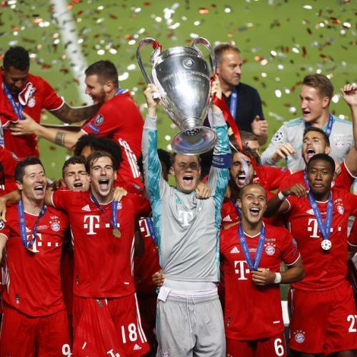 Bayern Munich wins Champions League for sixth time