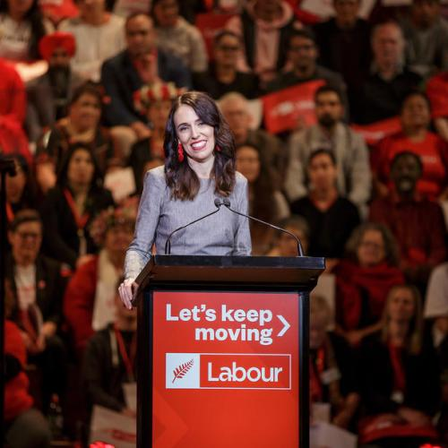Ardern launches her 'CoVid-19 election' campaign