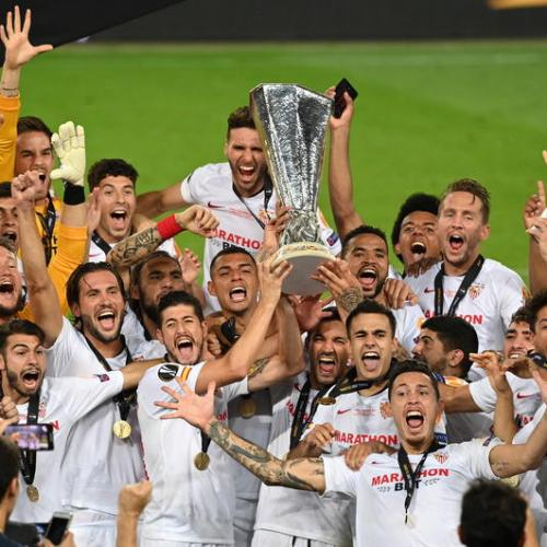 Sevilla beats Inter 3-2 to win Europa League for sixth time