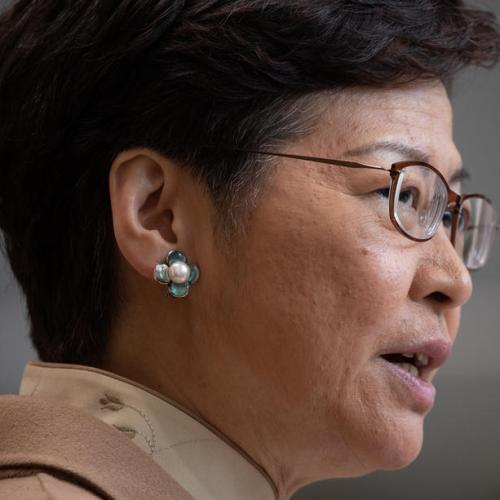 US imposed sanctions on Hong Kong Chief Executive Carrie Lam
