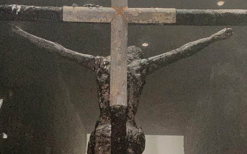 Crucifix in Nicaragua cathedral torched in 'hatred of the Church'