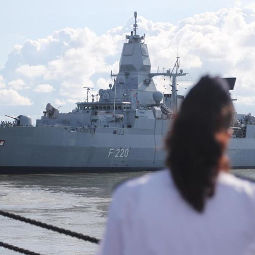 German frigate 'Hamburg' leaves for the Mediterranean to participate in Operation Irini