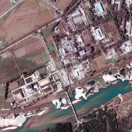 North Korea nuclear reactor site threatened by recent flooding