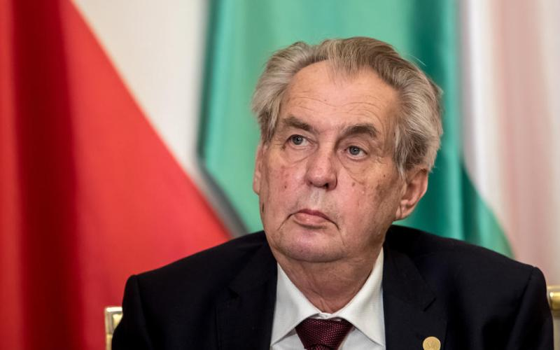Czech president chides Russia for listing his nation as unfriendly