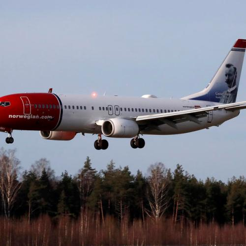Norwegian Air's loss balloons