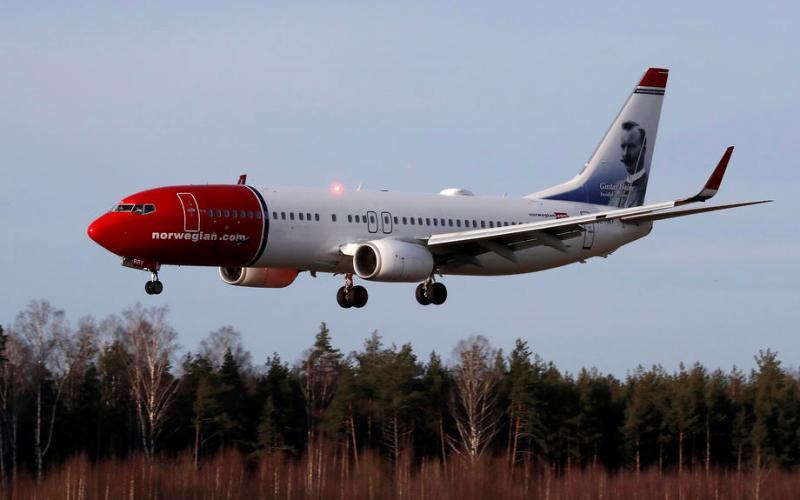 Norwegian Air's loss balloons