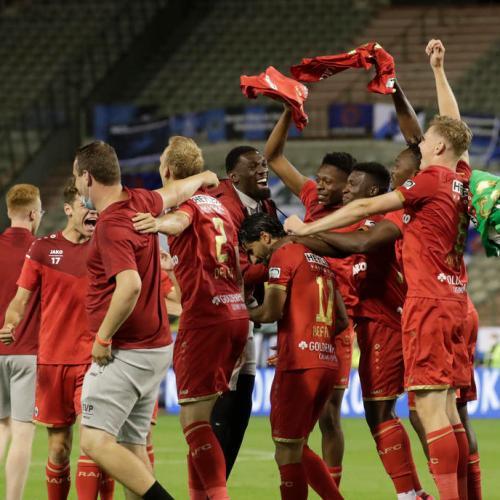 Antwerp win Belgian Cup