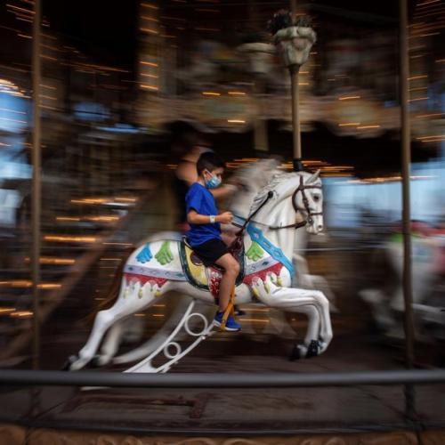 Photo Story – Carousel in Barcelona