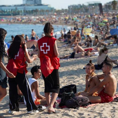 Photo Story: Red Cross in Spain launches campaign to raise awareness among youngsters
