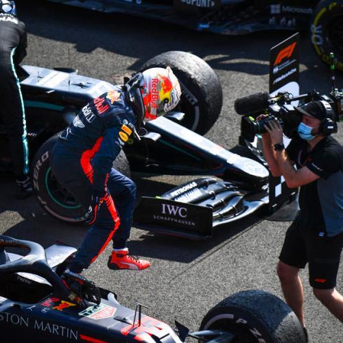 Max Verstappen wins Formula One's 70th Anniversary GP in Silverstone