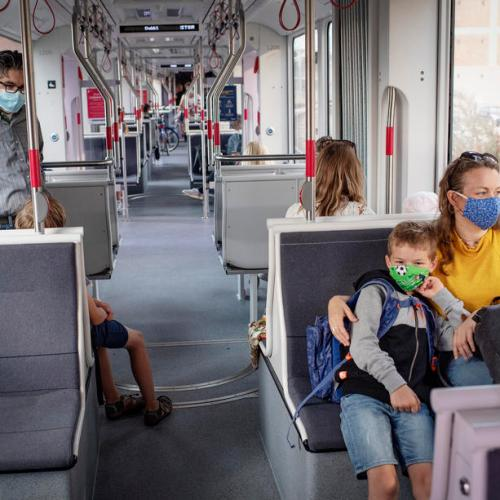 Photo Story: Masks mandatory on public transport in Aarhus, Denmark