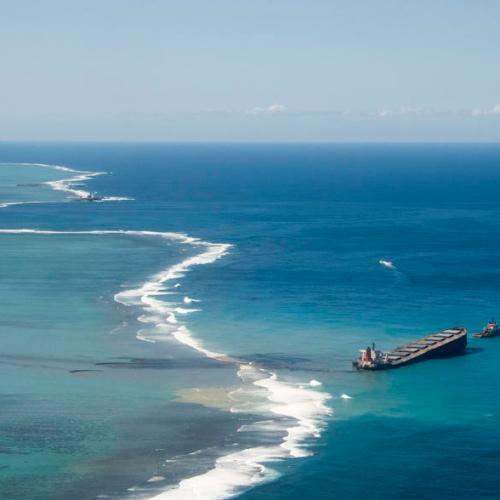 Most oil on damaged ship off Mauritius removed