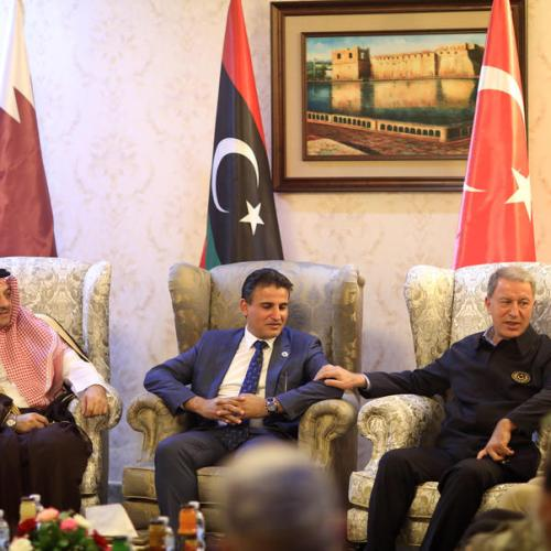 Libya, Turkey and Qatar sign military cooperation deal