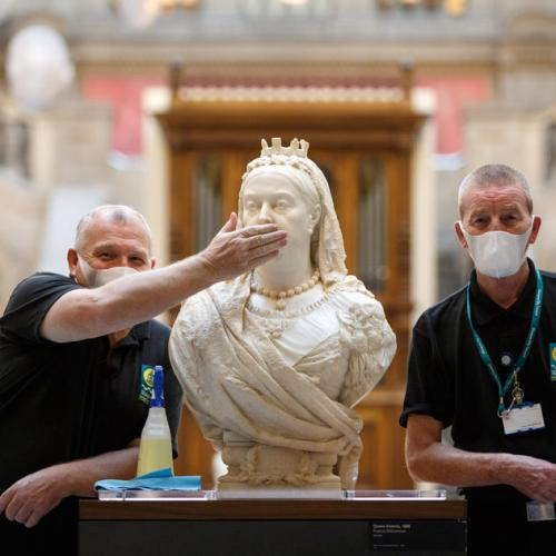 Photo Story: Kelvingrove Museum and Art Gallery in Glasgow opened to public
