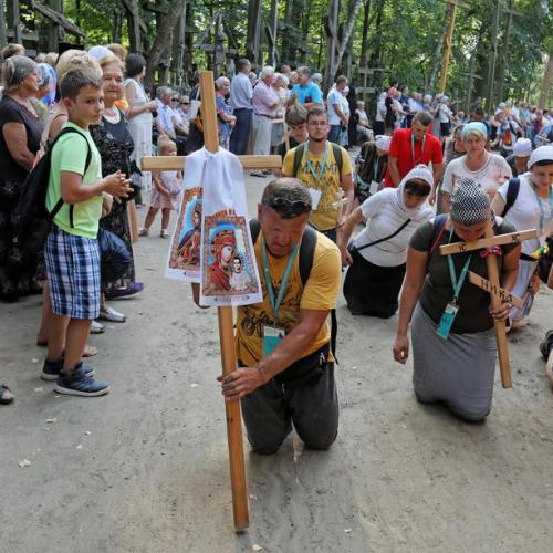 Photo Story: The annual pilgrimage to the holiest Orthodox Shrine in Grabarka, Poland