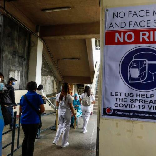 Philippines reports 4,650 new coronavirus cases, 111 additional deaths