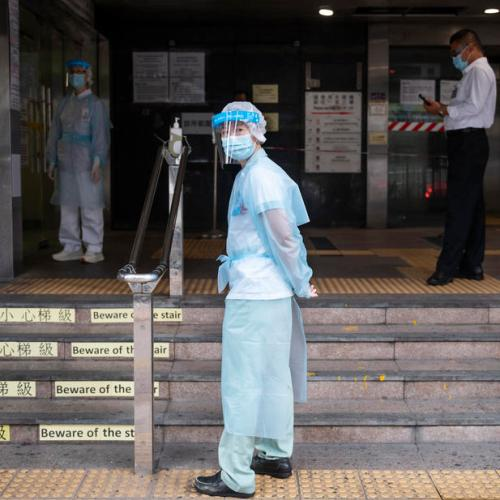 China says it has been vaccinating key workers since July