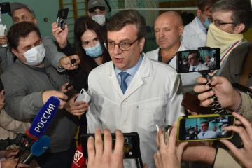 Missing Siberian doctor who treated Kremlin critic Navalny reappears after 3 days