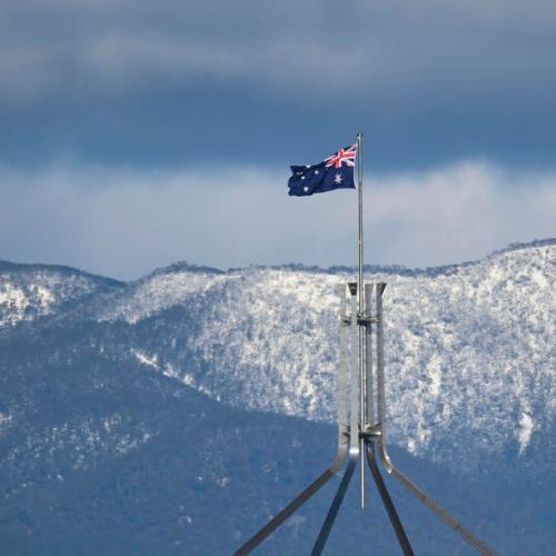 Rare snowfall across southeast Australia