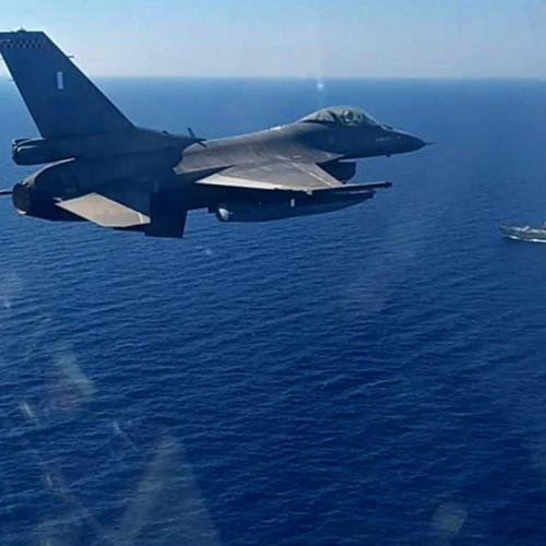 Joint Greek-US aeronautical exercise was held in the sea area south of Crete